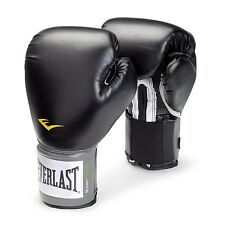 Black Training Gloves Boxing Women's Kid Youth Fighting Punching Sparring 8 oz