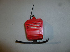 1972 BIG JIM TALKING BACKPACK PULL STRING WORKING TOY PACK MATTEL FIELD RADIO >