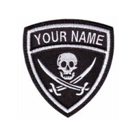 Pirate (a) Custom Crest Embroidered Patch