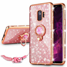 Luxury Diamond Bling Glitter TPU Case Cover For Samsung Galaxy S9 Plus J7 Prime