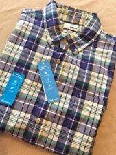 Sonoma Mens FlexWear Modern Fit Plaid Shirt Short Sleeved - XL