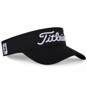 NEW Titleist Tour Performance Golf Visor Adjustable - Choose Color!