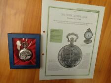 HACHETTE CLASSIC POCKET WATCH COLLECTION - MUSSEL 1950'S STYLE WATCH #58
