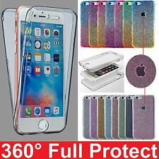 Shockproof 360° Gel TPU Protective Clear Case Cover For Apple iPhone 7 7 Plus 6s
