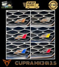 Eaziwrap Seat Leon Cupra MK3 & 3.5 Grill Flag Vinyl Overlay Sticker Decal