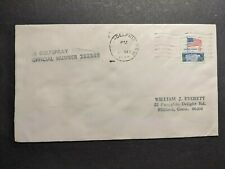 Gulf Oil Corp Tanker Ship SS GULFSPRAY Naval Cover 1974