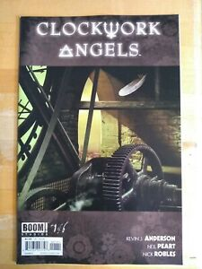 Clockwork Angels #1 C cover Boom! 15 copy incentive cover. Warehouse find.