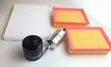 Filtro de aceite 2 x filtro de aire filtro polen Krafts. Arosa Ibiza polo Lupo 1.0 37kw 50ps