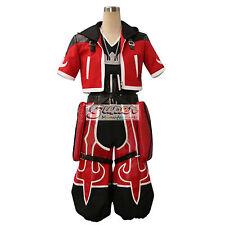 Kingdom Hearts Sora Red Uniform COS Clothing Cosplay Costume