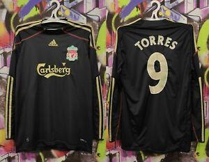 Liverpool Fernando Torres #9 Football Soccer Longsleeve Jacket Replica Mens M