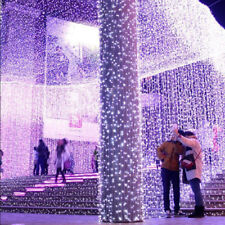 LED String Fairy Lights Net Mesh Curtain Xmas Wedding Party In/Outdoor Lamp Lot