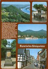 Alte Postkarte - Historisches Königswinter