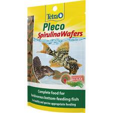 Tetra Pleco Spirulina Obleas alimentadores inferior 42g Alimento Completo