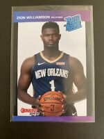 2019 Donruss Rated Rookie Retro Zion Williamson Pelicans Jersey Number 1/3431 RC