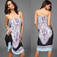 Beach V Neck Womens Long Fashion Dress Women summer Maxi Long Sleeve Party