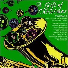A Gift of Christmas Vol 2 CD New 1999 Micky Dolenz Dionne Warwick Neil Sedaka