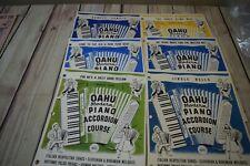 Oahu Modern Piano Accordion Course Lot of 6 Books
