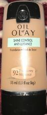 1 Oil of Olay All Day Moisture Foundation #92 Dark Honey New