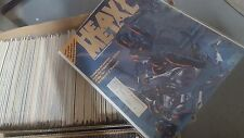Alternative comic lot HEAVY METAL MAGAZINE COLLECTION 1977-1986 80 issues