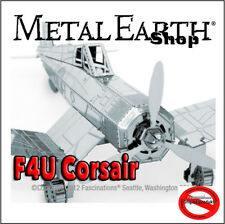 F4U Corsair  Metal Earth  3D Metal Model Kits