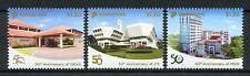 Singapore 2018 MNH ISEAS MUIS JTC 50th Anniv 3v Set Architecture Stamps