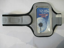 Samsung Galaxy S3 Phone Armband Cover - Silver