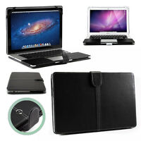 Smart Black Premium PU LEATHER Sleeve Case Cover for Apple MacBook Retina & Air