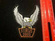 NEW Sturgis 2003 Patch - Harley Davidson Motorcycle Additional patches ship FREE