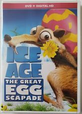 ICE AGE: THE GREAT EGG-SCAPADE DVD 1 DISC SET FREE WORLDWIDE SHIPPING