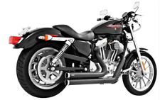 INDEPENDENCE BLACK SHORTY EXHAUST by Freedom HD00004 Harley XL Sportster 2004-13