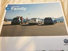 2017 VOLKSWAGEN MOTOR CAR SALES BROCHURE BOOK GOLF BEETLE PASSAT CC JETTA