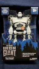 Iron Giant Walking Talking Light Up 12 Inch Robot Warner Bros Licensed Toy