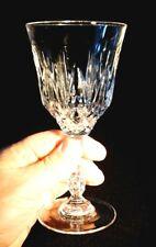 Beautiful Bohemia Cut Crystal Red Wine Glass
