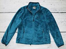 JACK WOLFSKIN Women's Blue Full Zip Fleece Jacket !  size M