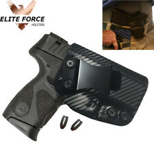 Kydex IWB Holster For Taurus G2S 'Audible Click' RIGHT HAND - CARBON FIBER