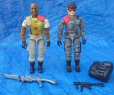 GI Joe ARAH Hasbro Action Figure With Accessories Lot Lowlight Roadblock 1986