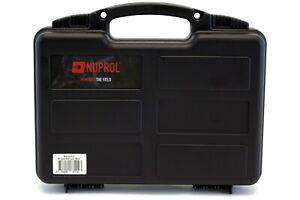 Nuprol Empty Pistol Small Hard PELI storage Case - Black
