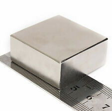 Strong Large Block Neodymium Magnets N52 40x40x20mm (+/-0.05mm) Square Magnets