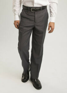 Mens Jolliman Half Lined Wool Touch  Zip Fly & Button Fastening Trouser