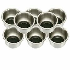 8pcs Marine Stainless Steel Cup Drink Holders for Boat/Rv Camper Amrine-made Esa