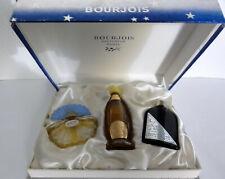 Coffret ancien BOURJOIS 3 parfums  - MAIS OUI - RAMAGE - SOIR DE PARIS **