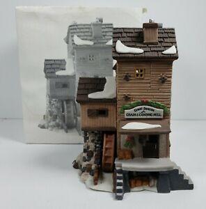 Department 56 Dickens Village Series Great Denton Mill #56.58122 1993
