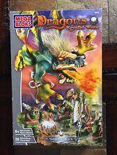 Vintage Mega Bloks Dragons Krystal Wars #9873 VORGAN ATTACK - New/Sealed