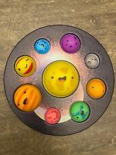 Three Versions Solar System Dimple Push Pop Bubble It Sensory Toy Simple Stress