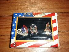 Usa Olympic Home Team 3-Pc Pin Set 1996 Atlanta 2002 Salt Lake City with Coa