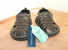 BRAND NEW INFANT/ TODDLER FAUX LEATHER SANDALS...EASY ON ,EASY OFF..SIZE .3