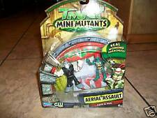 2008 PLAYMATES--TMNT TURTLES AERIAL ASSAULT--RAPH & HUN FIGURES (NEW)