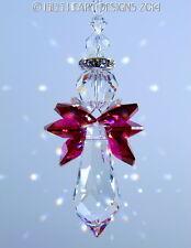 m/w Swarovski Crystal *ANGEL SAMMAEL* Red Wings Sun Catcher Lilli Heart Designs