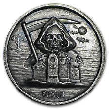 2017 1 oz Silver High Relief Round - The Grim Reaper - SKU#153775