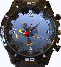 P-51 Mustang Aircraft World War New Trendy Sports Series Unisex Gift Wrist Watch